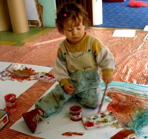 Zuzu maluje
