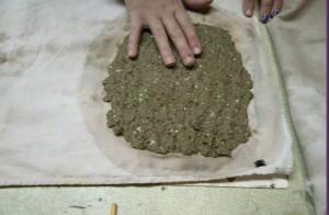 ruční papír- výroba