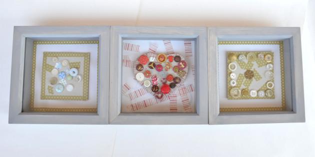vitrínové rámy s obrázky